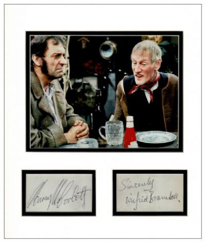 Steptoe and Son Autograph Signed Display